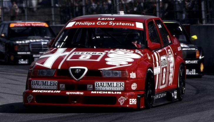 Alfa Romeo 155 V6 TI: una stella del DTM - Foto 10 di 18