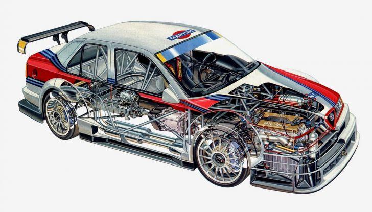 Alfa Romeo 155 V6 TI: una stella del DTM - Foto 14 di 18