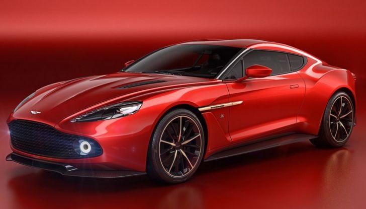 Aston Martin Vanquish Concept porta la firma di Zagato - Foto 2 di 11