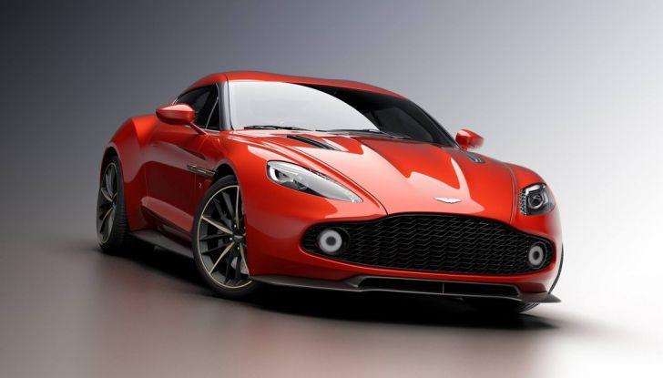 Aston Martin Vanquish Concept porta la firma di Zagato - Foto 10 di 11