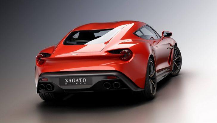 Aston Martin Vanquish Concept porta la firma di Zagato - Foto 11 di 11