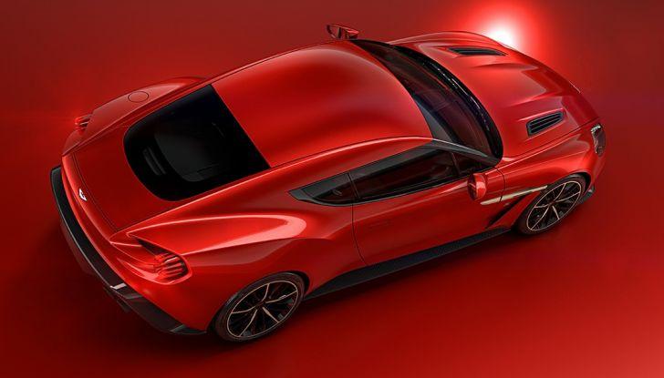 Aston Martin Vanquish Concept porta la firma di Zagato - Foto 4 di 11