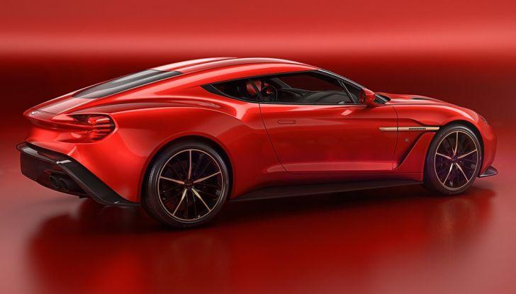 Aston Martin Vanquish Concept porta la firma di Zagato - Foto 5 di 11
