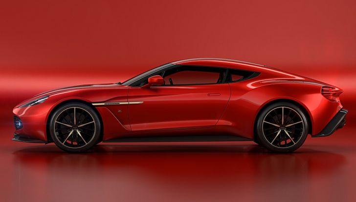 Aston Martin Vanquish Concept porta la firma di Zagato - Foto 1 di 11