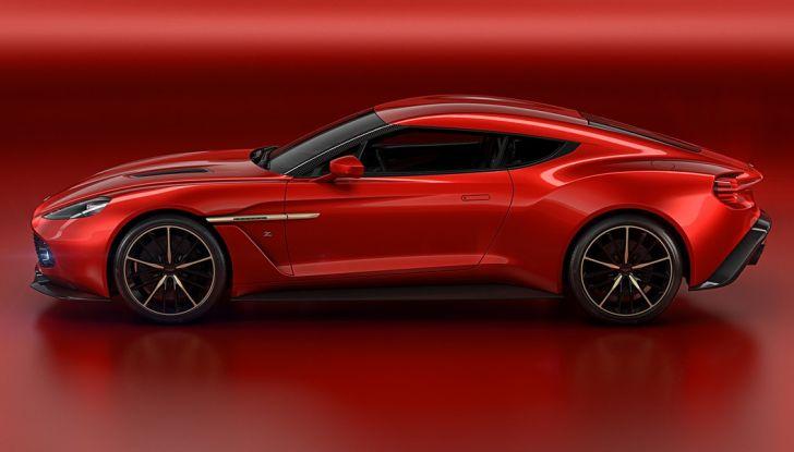 Aston Martin Vanquish Concept porta la firma di Zagato - Foto 6 di 11