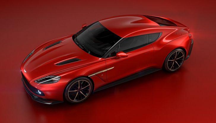 Aston Martin Vanquish Concept porta la firma di Zagato - Foto 8 di 11