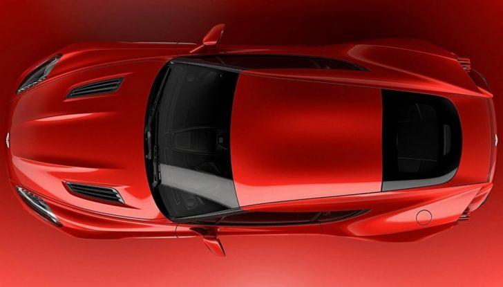 Aston Martin Vanquish Concept porta la firma di Zagato - Foto 9 di 11