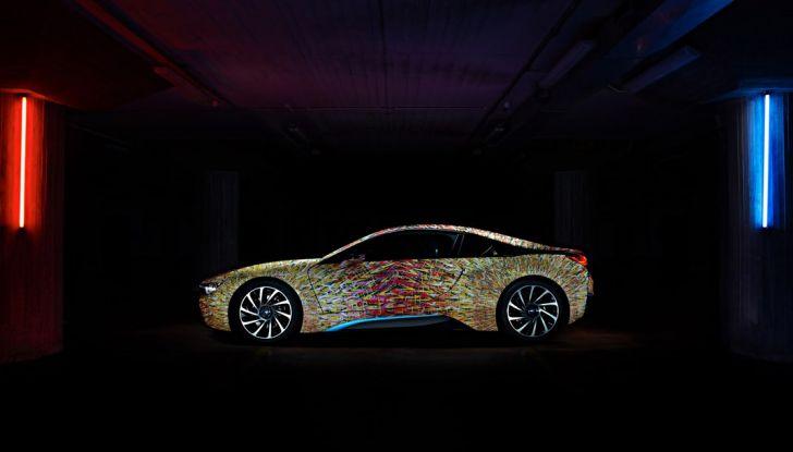 BMW i8 Futurism Edition con livrea firmata Garage Italia Customs (1)