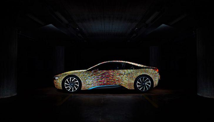 BMW i8 Futurism Edition con livrea firmata Garage Italia Customs (2)