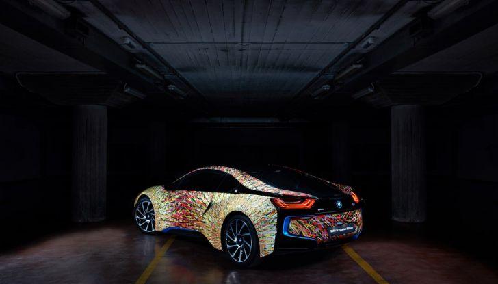 BMW i8 Futurism Edition con livrea firmata Garage Italia Customs (3)