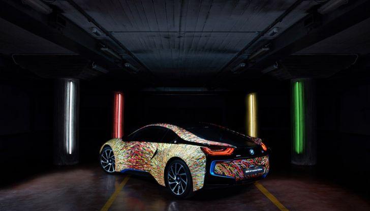 BMW i8 Futurism Edition con livrea firmata Garage Italia Customs (4)