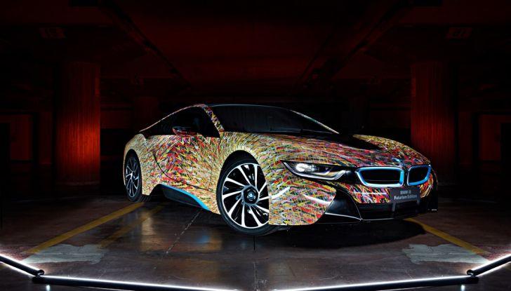 BMW i8 Futurism Edition con livrea firmata Garage Italia Customs (5)