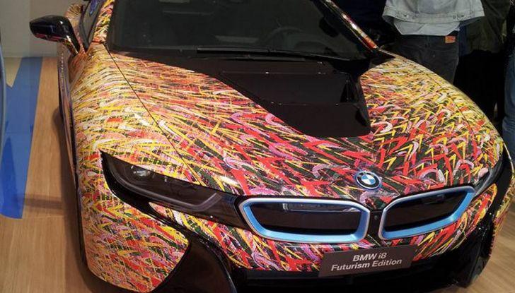 BMW i8 Futurism Edition con livrea firmata Garage Italia Customs (7)