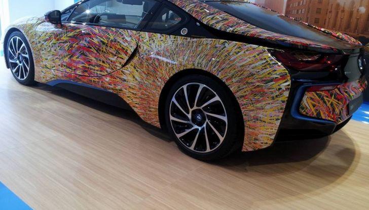 BMW i8 Futurism Edition con livrea firmata Garage Italia Customs (8)