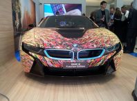BMW i8 Futurism Edition con livrea firmata Garage Italia Customs