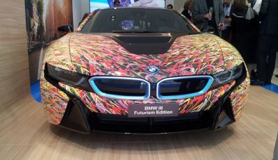 BMW i8 Futurism Edition con livrea firmata Garage Italia Customs