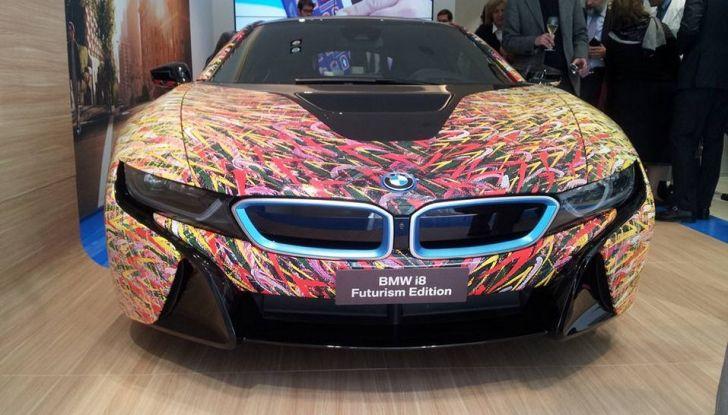 BMW i8 Futurism Edition con livrea firmata Garage Italia Customs (9)