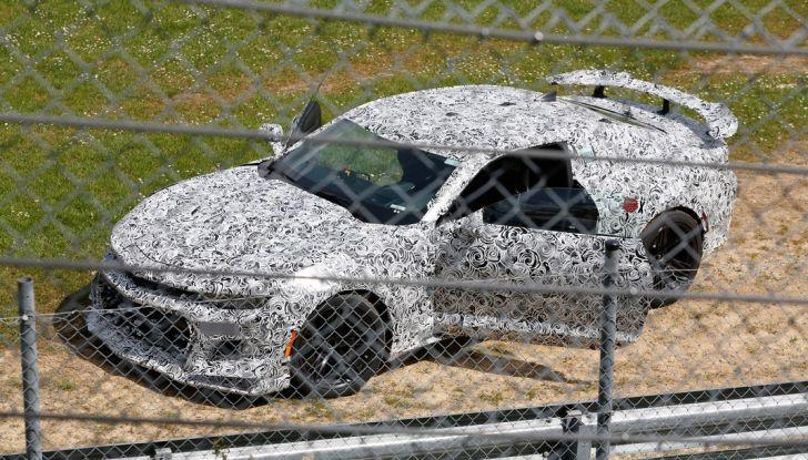 Chevrolet Camaro Z28, incidente al Nürburgring durante i collaudi (3)