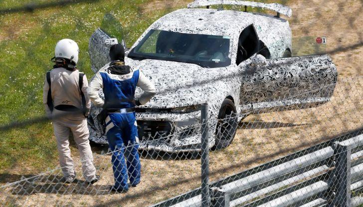 Chevrolet Camaro Z28, incidente al Nürburgring durante i collaudi (4)