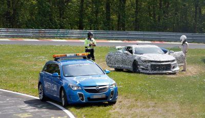 Chevrolet Camaro Z28, incidente al Nürburgring durante i collaudi