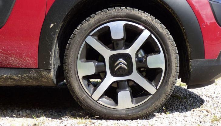 Citroen C4 Cactus ruota BlueHDi 100 ETG6 la prova su strada, consumi e prestazioni (25)