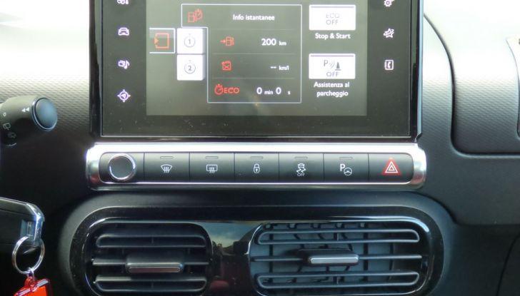 Citroen C4 Cactus BlueHDi 100 ETG6 la prova su strada, consumi e prestazioni (49)