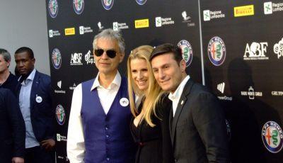 """Alfa Romeo all'Expo con """"Bocelli and Zanetti Night"""", lo spettacolo che fonde sport, musica e solidarietà"""
