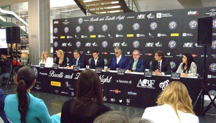 Bocelli and Zanetti Night presentazione