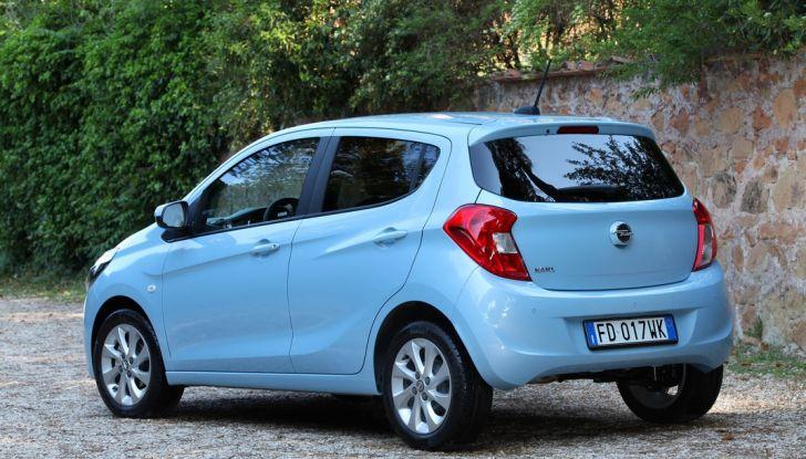 Opel Karl GPL Tech, 100 km con tre euro: il Test Drive - Foto 13 di 37