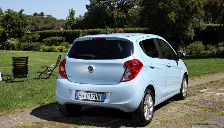 Opel Karl GPL Tech, 100 km con tre euro: il Test Drive - Foto 34 di 37