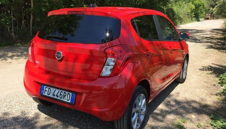 Opel Karl GPL Tech, 100 km con tre euro: il Test Drive - Foto 4 di 37
