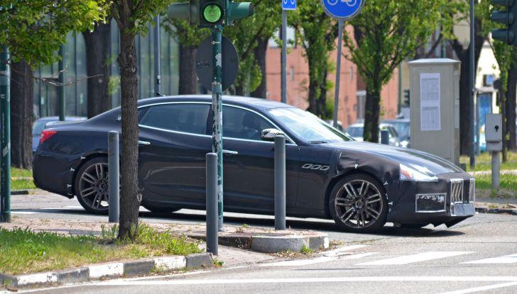 Maserati Quattroporte: le foto spia del restyling - Foto 2 di 10