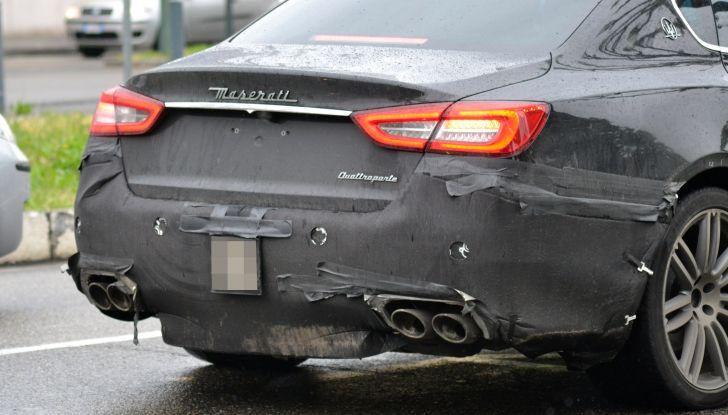 Maserati Quattroporte: le foto spia del restyling - Foto 3 di 10