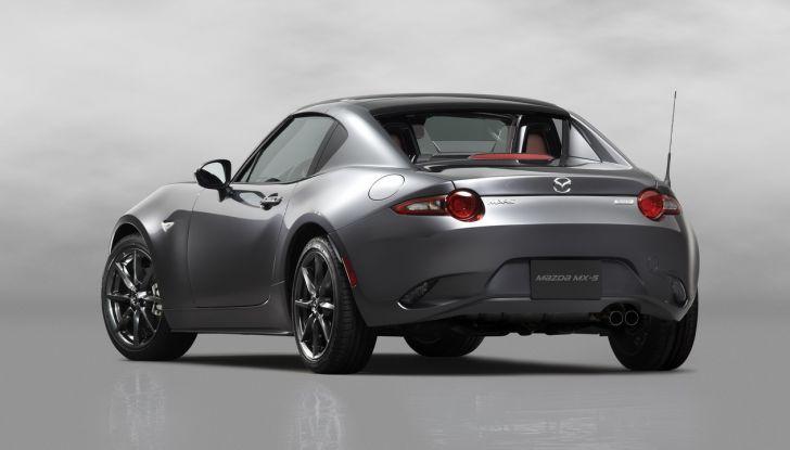 Mazda MX-5 RF: debutto europeo nel Regno unito a giugno - Foto 3 di 14