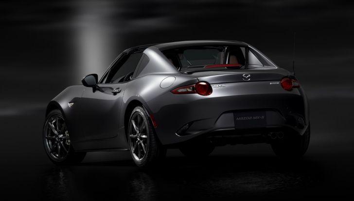 Mazda MX-5 RF: debutto europeo nel Regno unito a giugno - Foto 14 di 14