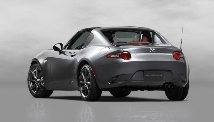 Mazda MX-5 RF: debutto europeo nel Regno unito a giugno - Foto 8 di 14
