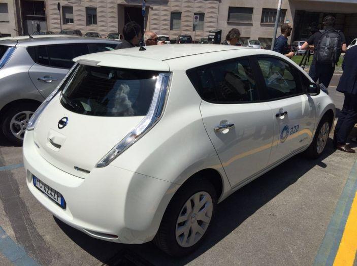 Nissan e A2A, inaugurate a Milano le prime colonnine pubbliche di ricarica rapida per i veicoli elettrici - Foto 10 di 21