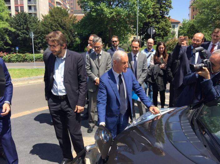 Nissan e A2A, inaugurate a Milano le prime colonnine pubbliche di ricarica rapida per i veicoli elettrici - Foto 13 di 21