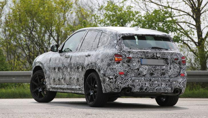 Nuova BMW X3: interni e dettagli nelle ultime foto spia - Foto 12 di 14