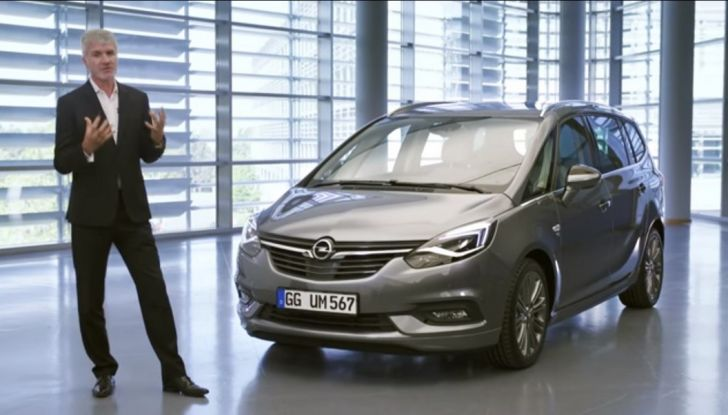 Nuova Opel Zafira - Foto 1 di 8
