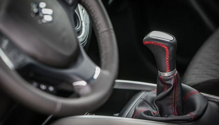 Nuova Suzuki Baleno S dettagli interni