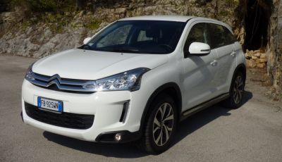 Citroën C4 Aircross 4WD prova su strada, dati tecnici e prezzi