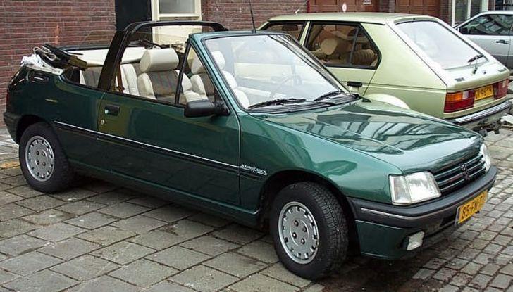 Peugeot 205 Cabrio Roland Garros 1993