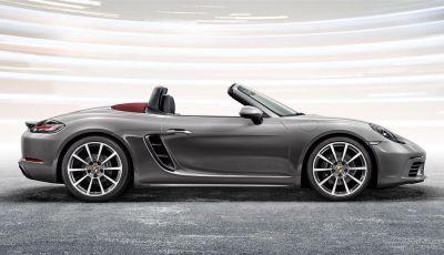 Porsche 718 Boxster, presentata la nuova roadster