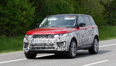 Land Rover Range Rover Sport: ecco le foto spia del restyling