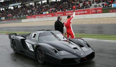 Michael Schumacher riceve il premio alla carriera Nurburgring Award