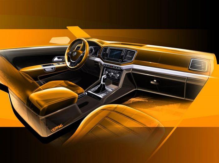 Volkswagen Amarok bozzetto interni