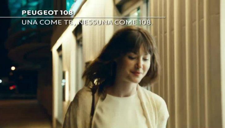 """Peugeot 108, nuova campagna con la canzone """"Una come te"""" di Cesare Cremonini - Foto 3 di 10"""