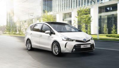 Toyota Prius +: maggiore comfort e tecnologia per il Model Year 2016