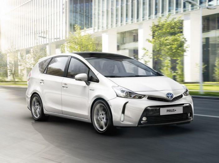 Toyota Prius +: maggiore comfort e tecnologia per il Model Year 2016 - Foto 1 di 14